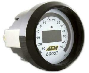 AEM 52mm Digital Display BOOST Gauge 4 in 1 - 30 - 50psi  #30-4408