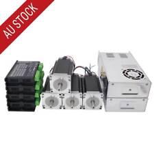 4 Axis CNC Kit 3nm NEMA 23 Stepper Motor & Dm542t Driver CNC Router Lathe Plasma