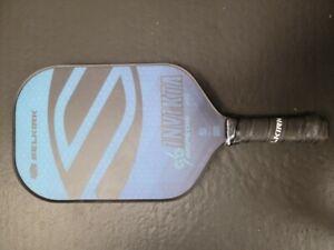2021 Selkirk AMPED Invikta Midweight X5 FiberFlex Paddle Pickleball Blue
