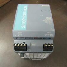 Siemens 6EP13333BA10 Power Supply AC-DC; 24V 5A 85-132/170-264V In DIN Rail 120W