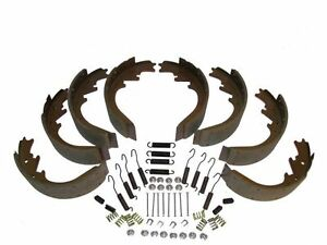 8 Brake Shoes with Return Springs & Hardware 58 Lincoln - all 1958 models NEW