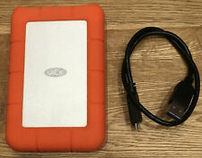 Lacie Rugged Portable USB 3 500GB Hard Drive RUGU3M