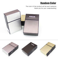 20 LOADED PLASTIC MEN CIGARETTE HOLDER CASE DISPENSER POCKET TOBACCO STORAGE BOX