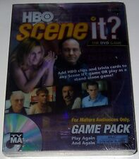 HBO SCENE IT? Game Pack DVD Game NEW SEALED! (Sopranos, Sex in the City, More)