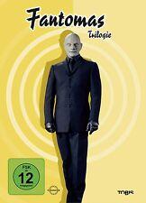 Louis de Funes FANTOMAS TRILOGIE gegen Interpol BEDROHT DIE WELT 3 DVD Box Neu
