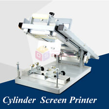 Manual Pen Silk Screen Printing Machine Cylinder Printing Surface Curve Press