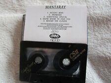 Mantaray The Reds & The Blues 5 tracks Sampler Promo Tape Cassette Single