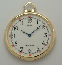 FATHERS DAY SALE - Pocket Watch - Swiss Movement - 14K Gold -