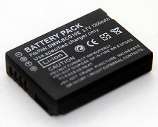 DMW-BCG10 Battery For Panasonic Lumix DMC-ZS1 DMC-ZS3 DMC-ZS5 DMC-ZS6 DMC-3D1
