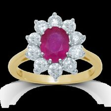 Unbranded Ruby Yellow Gold Fine Jewellery