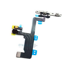 """For iPhone 6 4.7"""" On Off Power Button Flex with LED Flash Light Metal Bracket"""