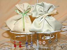 30x Baby Shower Earrings Favours bags Prizes Neutral