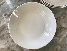 Royal Doulton Pasta Bowls Gordon Ramsay White Maze. 9.4 Inch Set Of 4. New.