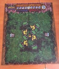 ASHENVALE  VALTETRA  Map  World of Warcraft WOW Miniatures Game MAPPA *