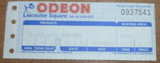In Bed With Madonna - concert ticket - 21/09/1991 Odeon leicester Square
