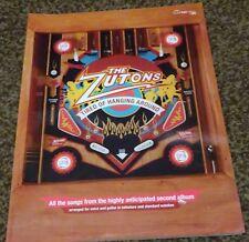 Stanco di aggirarsi-THE Zutons-Libro di musica per chitarra scheda accordi & VOCAL