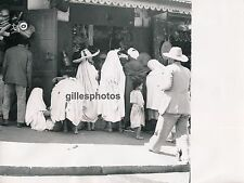 TANGER c. 1950 - Grand Socco Costumes Espagnols Maroc - M41