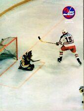 1976 Winnipeg Jets Home vs Cleveland Crusaders WHA World Hockey Assn Program