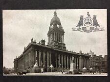 RP Vintage Postcard - Yorkshire #A20 - Town Hall, Leeds - Embossed - Durhams Ltd