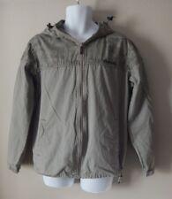 Men's Grey Bench Jacket Size M