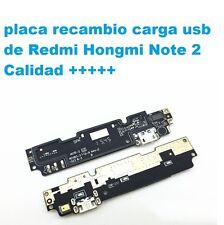 Replacement Charging USB Flex placa carga usb Xiaomi Redmi Note 2 octa core