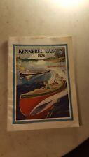 1926 Kennebec Canoe Catalog Waterville Maine