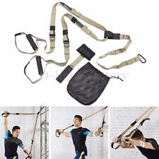 Suspension Trainer Training Straps Gym Strength Home Workout Pro Yoga Straps