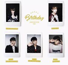 BTS Birthday Polaroid Set (방탄소년단, Bangtan Sonyeondan, Beyond the Scene)