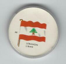 1963 General Mills Flags of the World Premium Coins #66 Lebanon