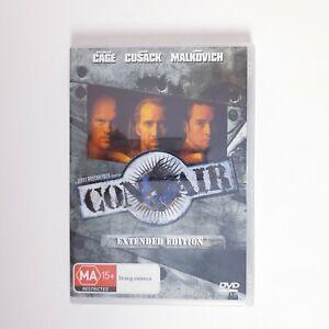 Con Air Movie DVD Region 4 AUS Free Postage - Action Nicolas Cage