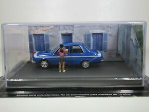 Altaya ROUTE BLEUE, 1:43 Scale, RENAULT 12 GORDINI with FIGURES DIORAMA #1