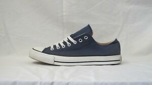 CONVERSE ALL STAR LOW DOUBLE TONGUE NAVY SIZE 9.5