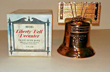 "Vintage 1971 Avon ""Liberty Bell"" Decanter with Oland After Shave in box"