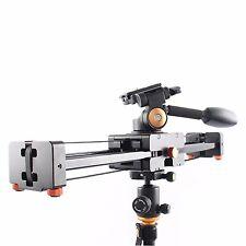 S-V500 0.5~1m load 8kg Retractable Video Slider Dolly Track + 3-Way Fluid Head