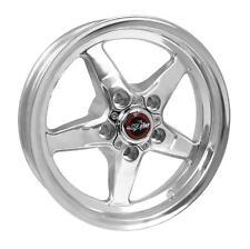 "RaceStar 92-745242DP Drag Star Wheel Polished 17x4.5 - 5x4.75 - 1.75"" Back Space"