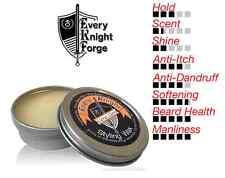 Every Knight Styling Wax/Balm,  Beard & Hair Grooming: Citrus Clove, Made in USA