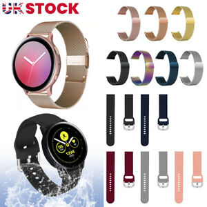 For Samsung Galaxy Watch Active 2/1 Universal Replacement Milanese Band Strap UK