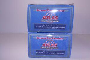 Atlas 2-rail O Scale FGE 9275 & 9268 Steel Reefers (9511-1 and 9511-2)