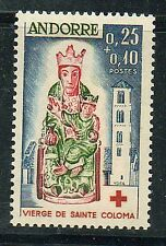 977 ANDORRA B1 MNH Virgin of St. Coloma 1964 Surtax was for Red Cross