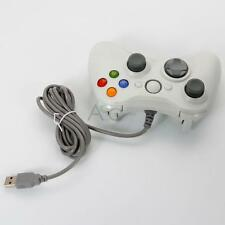 Wired Console USB Game Remote Controller for PC Windows Computer White