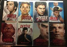 Dexter complete series 1-8 set seasons 1 2 3 4 5 6 7 8 LOT AUTHENTIC Region 1 FR