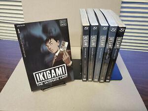 Ikigami The Ultimate Limit 1-10 Set US English Viz Sig Manga VG some sealed