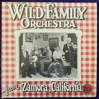 WILD FAMILY ORCHESTRA From Zamora California LP YOLO Shrink R CRUMB Art Cover EX