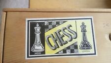 JAQUES CHESS SET.' KING  3'' HIGH