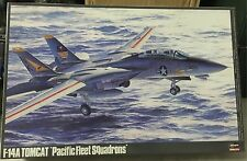 Hasegawa  F14A Tomcat Pacific Feet Squadrons Model Kit  Scale 1/48, Nuevo