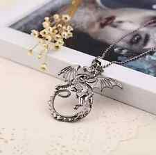 Game of Thrones Inspired Dragon Necklace Gift Jewelry Chain Birthday UK