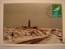 (NL1367) LIGHTHOUSE (VUURTOREN) 1998 NETHERLANDS maximum maxi card postcard
