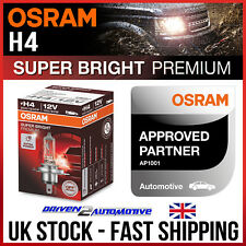 1x OSRAM H4 OFFROAD PREMIUM BULB 12V 100/90W TRIUMPH TIGER Tiger 800 01.11-