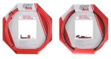 Clarks CNC ZERO-G Lightweight MTB + Road Bike GEAR & BRAKE Cable Kit - RED