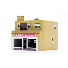 oo Gebäude Plastik Set (Village Haus) - Shop & flach - Dapol C031